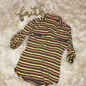 Guess striped shirt